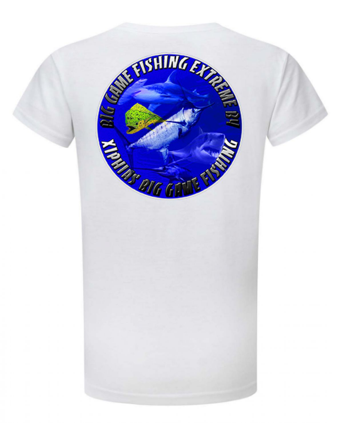 Tee-Shirt Xiphias Big Game Fishing Ref 1