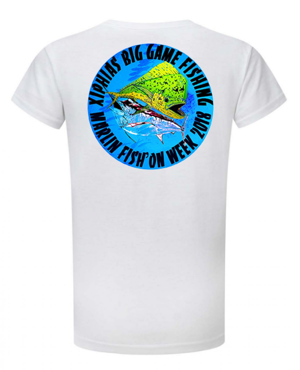 Tee-Shirt Xiphias Big Game Fishing Ref 3