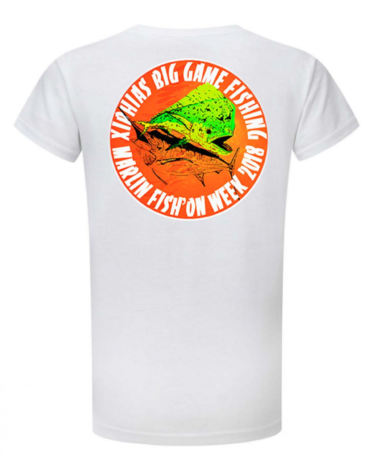 Tee-Shirt Xiphias Big Game Fishing Ref 4