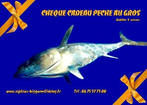 cheque cadeau xiphias big game fishing