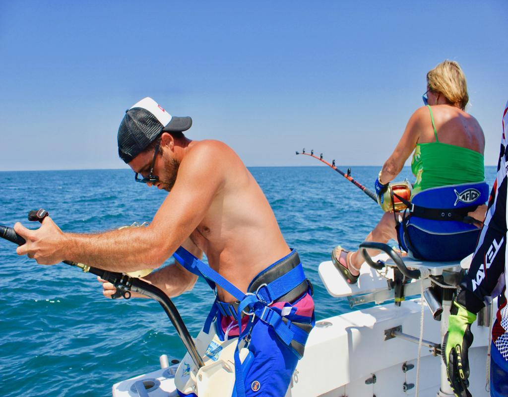 pêche au gros double strikes
