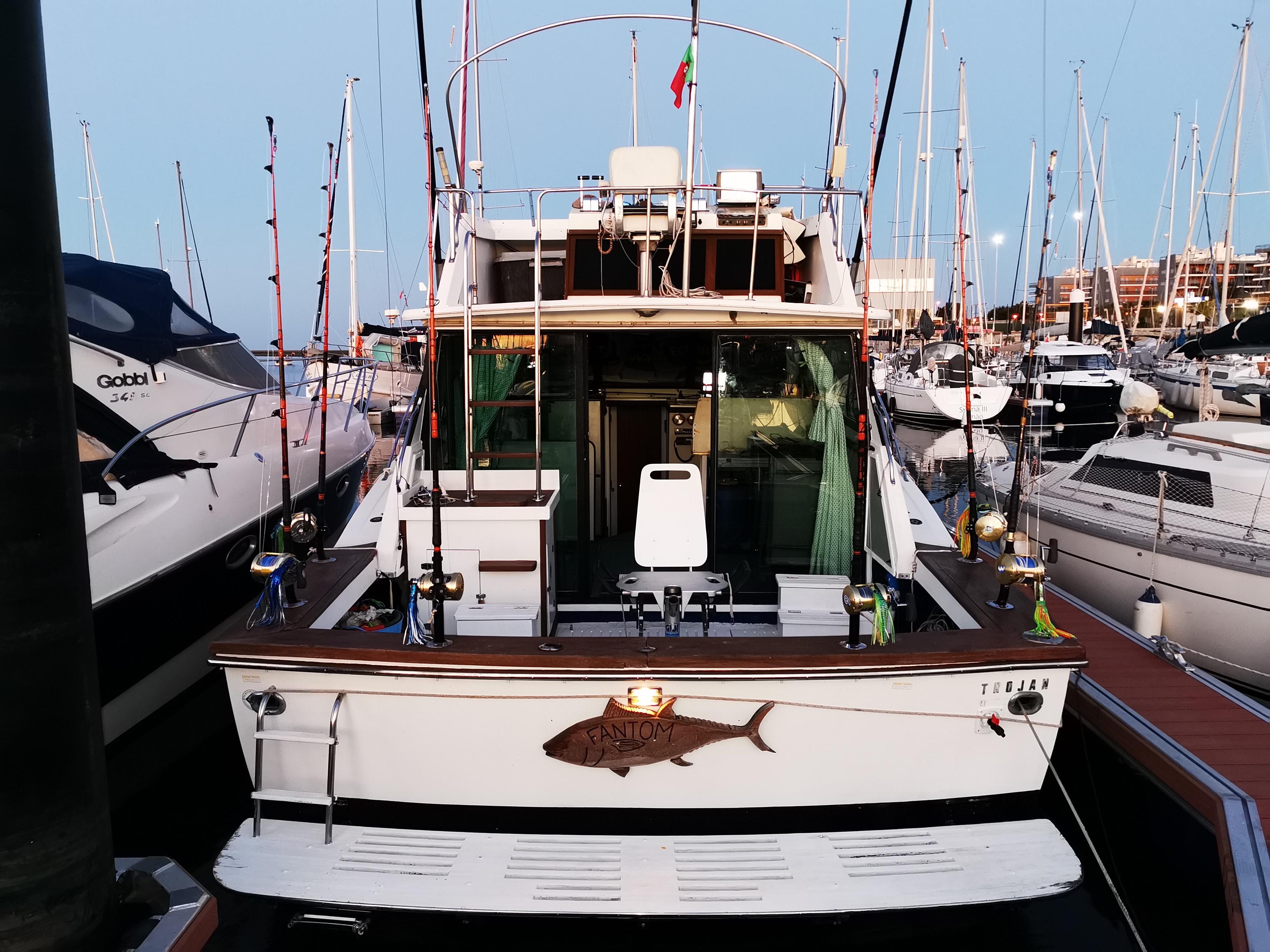 bateau charter peche au gros portugal