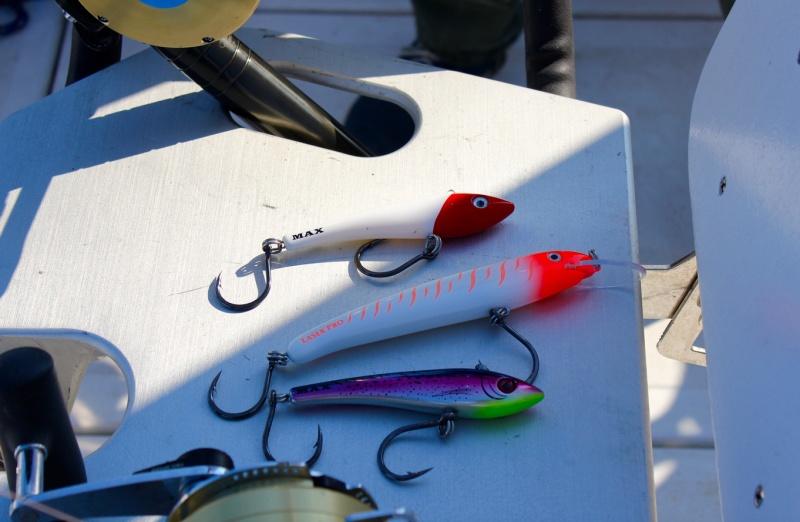leurrede traine pour la pêche au thon