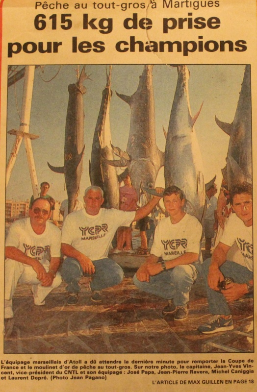 bluefin tuna fishing to Martigues