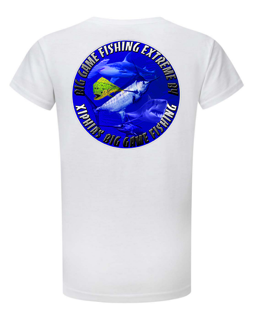tee shirt peche au gros big game fishing extreme